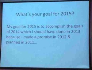 0   New Year Goals