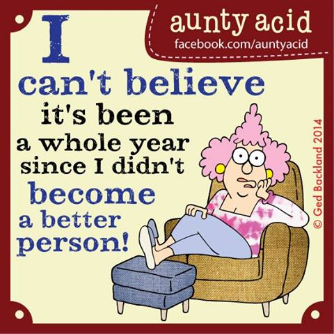 Aunty Acid New Year